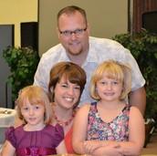 Welcome Pastor Wayne & Krista White & family!