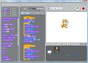 In Scratch you can add some tabs that you want your character to preform to