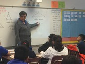 Ms. Malave at Cuellar Elementary
