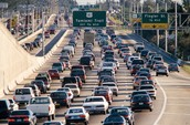 Traffic is common in big cities