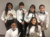 KMS Students earn seats in Region 19 All-Region Band!