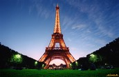 Our first place I'd like to talk about is the Eiffel Tower