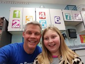 Ashley and me on #shadowastudent day