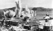 Port Moresby bombed
