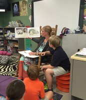 Mrs. McClary Reads to Us