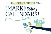 Don't forget to watch the Fall Product Premier