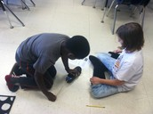 Friction Science Experiment.