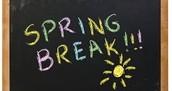 Spring Break Tutoring!