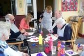 Activities Dept. Volunteer at Nursing Home