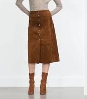 Mid skirts