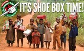 Operation Christmas Child Shoe Boxes -  THIS Sunday