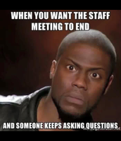 Reminder our staff meeting will be  LONG on Feb.29th!!!