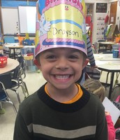 Happy Birthday, Drayson!