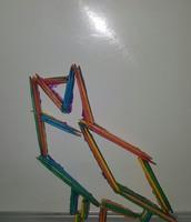 Jacqueline A - Linear Sculpture