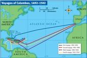 Columbus' Voyages