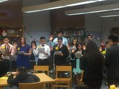 TJHS Students Inducted into National Beta Club