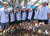 Grammar Team Finishes 5th at Brisbane