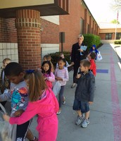 Thanks Kinder students for making RV and our earth beautiful!