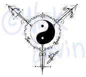 A two-spirit symbol.