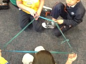 A quadrilateral has four sides!