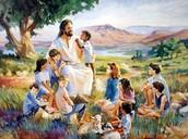 Jesus Blessed the Children