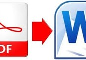 Edit PDFs using Microsoft Word!