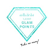 1000+ POINTS FOR GLAM GETAWAY PRIZES