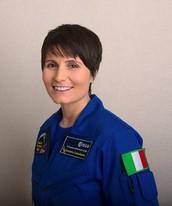 an Italian woman astronaut...
