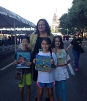 Monica Brown at the Texas Book Festival