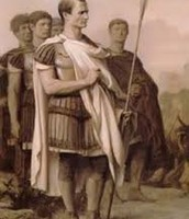 Caesar returns from battle