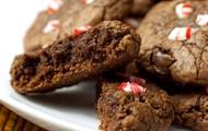 original peppermint brownie cookies