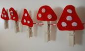 paddenstoel knijpers