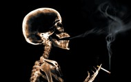 no smoking. is detrimental to your health.