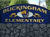 Buckingham's New Sign Installed