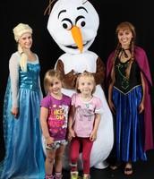Invite Elsa, Ana or Olaf to celebrate!