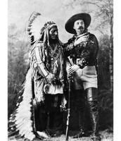Sitting Bull and General Custer