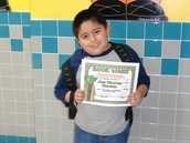 1st Place Reader in 2nd Grade