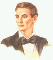 Abarham Lincon portrait when he is little