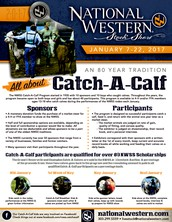 2017 National Western 4-H Catch-A-Calf Applicants Wanted