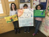 5th graders make a Water Footprint Pledge