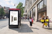 Oxford Street's Bus Shelters Complete (UK)