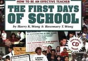 How to Be an Effective Teacher, The First Days of School