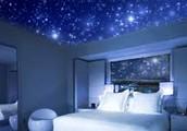 Puedes decorar tu habitacion con una hermosa constelación de Estrellas Reales