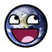 The Earth with a Smile :-)