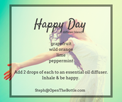 Happy Day Diffuser blend