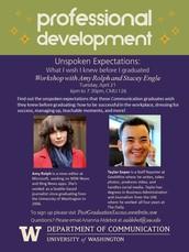 Career Kickstart Professional Development Workshop with Amy Rolph and Taylor Soper