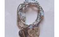 Beautiful heart bracelet $15