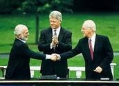 יצחק רבין עשה הסכם שלום עם ירדן