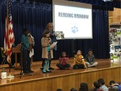 @Pillow 5th graders share the Mockingbird Challenge books they read!