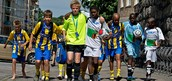 """Having the opportunity to play the sport you love in a country where """" Soccer is life"""" is an experience of a lifetime!"""